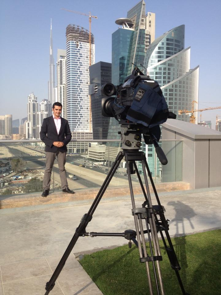 Behind the scenes of SBS World News from Dubai (2013)
