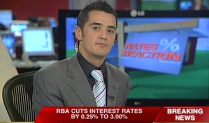 Presenting Trading Day on Sky News Business (2008)