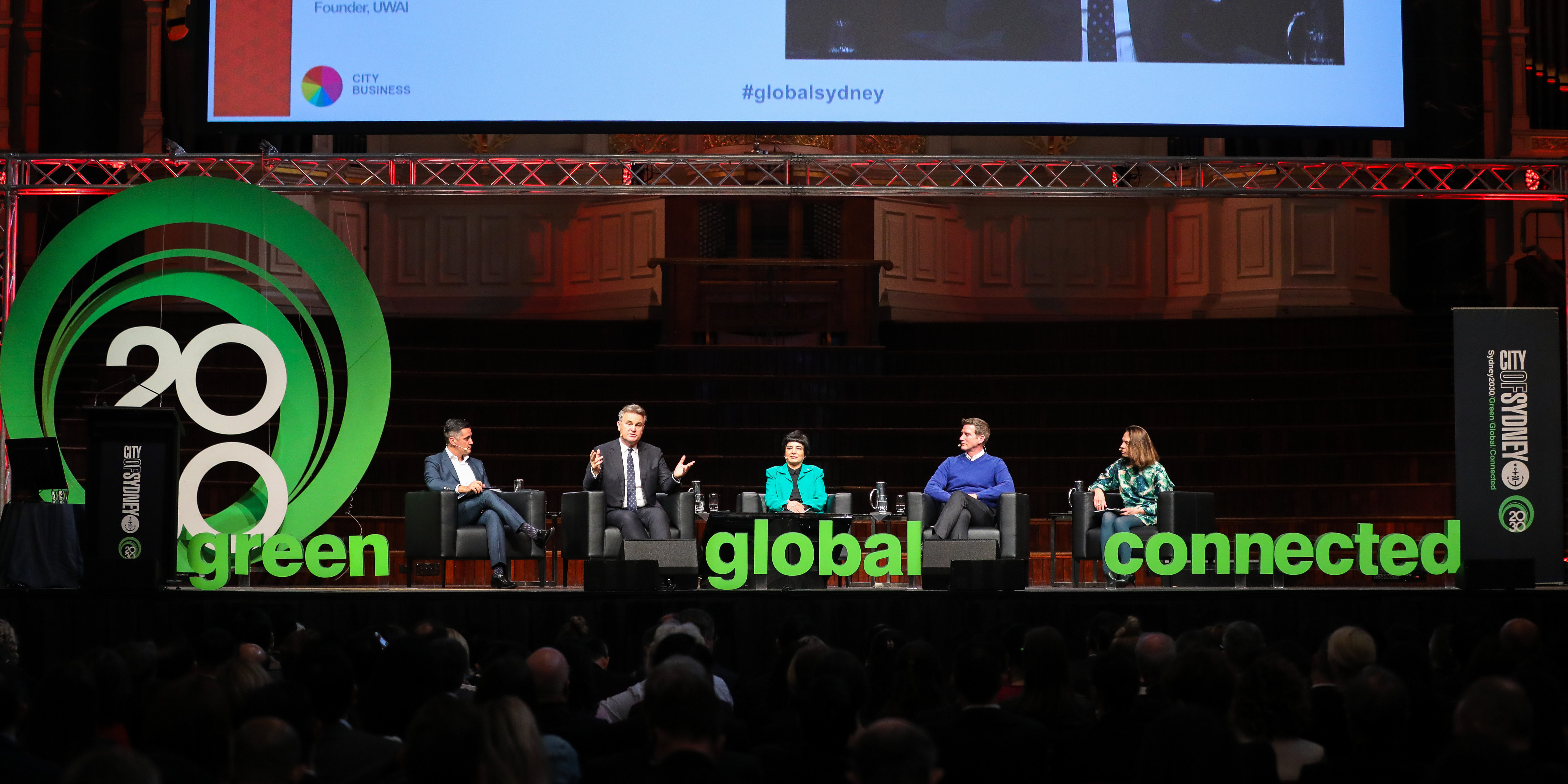 Town Hall, Sydney - 29th May 2018. Future Asia Business Summit 2018.